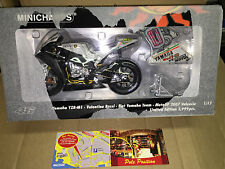 1:12 MINICHAMPS YAMAHA 2007 VALENCIA V. ROSSI NEW SEALED IN BOX VERY RARE