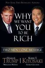Why We Want You to be Rich: Two Men - One Message-ExLibrary