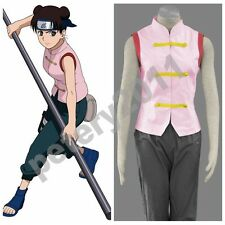 Custom-made Naruto Anime Cosplay Tenten 1st Costume Halloween