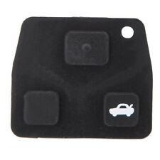 3 Buttons Remote Key Repair Kit Case Fob Button Pad Rubber for Toyota Avensis BT