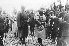 WW1 - Guerre 14/18 - Revue des troupes allemandes en 1914