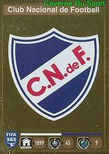 791 LOGO BADGE CLUB NACIONAL DE FOOTBALL URUGUAY FIFA 365 PANINI