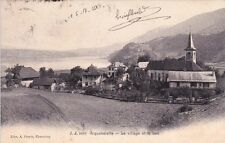 AIGUEBELETTE 2459 le village et le lac éd perrin timbrée 1905