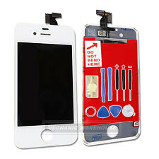 For iPhone 4S Retina LCD Display Touch Screen Digitizer Glass White Replacement