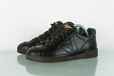 RARE AUTH MENS LOUIS VUITTON LEATHER BROWN SNEAKER SHOES BOOTS TRAINERS SIZE 6.5