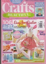 CRAFTS BEAUTIFUL MAGAZINE #265 APRIL 2014, ONLY MAGAZINE NO GIFT.