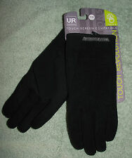 UR Powered Sweater Knit & Tech Stretch Mens L/ XL Capacitive Touchscreen Gloves