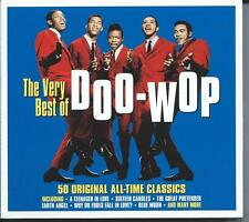Doo-Wop - The Very Best Of - 50 Original All-Time Classics (2CD 2015) NEW/SEALED