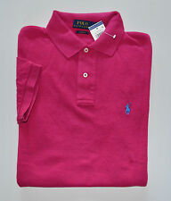 NWT Men's Ralph Lauren Short-Sleeve Polo Shirt, Pink, Classic Fit, M, Medium