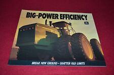 John Deere 8560 8760 8960 Tractor Dealer's Brochure DCPA5