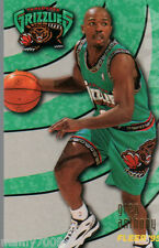 CARD N°340 BASKET=GREG ANTHONY (VANCOUVER GRIZZLIES)=NBA 95/96 FLEER=CM 8,9X6,4