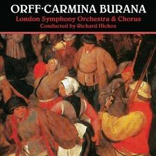 CD ORFF CARMINA BURANA RICHARD HICKOX LONDON SYMPHONY ORCHESTRA SOUTHEND BOYS