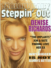 STEPPIN OUT LOT - DENISE RICHARDS COVER + INTERVIEW - 2 DIFFERENT COVERS