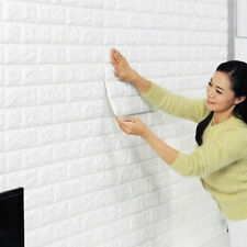 30*60cm White Brick Pattern Decal Vinyl Mural Art Wall Stickers Home Decor DIY