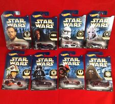 Hot Wheels Star Wars Force Awakens Faction Full Set 1 2 3 4 5 6 7 8 WM Exclusive