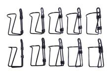 WHOLESALE JOB LOT 10 CLASSIC STYLE RACING BIKE WATER BOTTLE CAGES BLACK