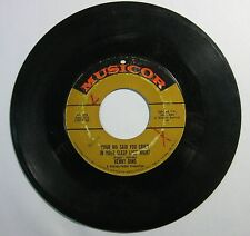 Your Ma Said You Cried In Your Sleep Last Night - Kenny Dino 45 RPM Record