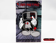 I-am-Retro Steamboat Mickey Mascot Enamel Pin 2in Silver Plated - Kidrobot