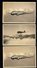 "3 American Airlines Flagship Fleet Postcards - ""Lie Aloft and Like It!"""