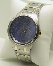 Accurist Gents Celestial Timepiece Blue Dial Bracelet Watch GMT117USA RRP £350