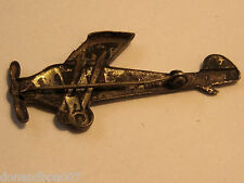 """Vintage Amelia Earhart Airplane Pin """"New York- Paris""""  1/7/8"""" /Brass/Collectible"""