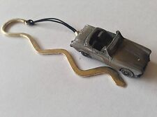 MG Midget Mk2 ref135   FULL CAR on a CURVED bookmark with cord