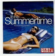 (GO484) In The Summertime, 15 tracks various artists - 2005 News of the World CD