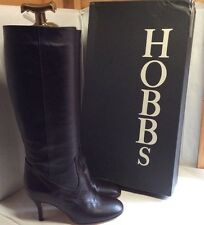 "100% Leather Knee High Boots By HOBBS "" Dolly Longboot"" Size 7 UK RRP £225 NEW"