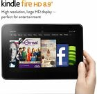 Amazon Kindle Fire HD 16GB, Wi-Fi, 8.9 in Model:3HT7G, 2nd Generation NEW OTHER