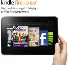 "Amazon Kindle Fire HD 16GB, Wi-Fi, 8.9"" in Model 3HT7G, 8.9 INCH NEW OTHER"