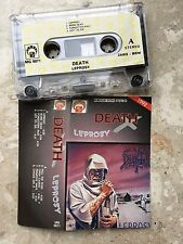 DEATH - Leprosy MC RARE POLISH PRESS 1992 MG