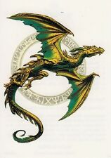 Temporary Tattoo, Dragon Tattoo, AGD234 01-12, fliegender Drache