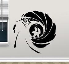 James Bond Logo Wall Decal Agent 007 Movies Vinyl Sticker Art Decor Mural 54zzz