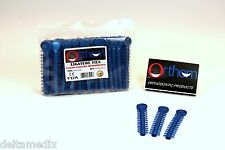 Dental Elastic Orthodontic Ligature Ties Bands Metallic Blue /1040 Pcs ORTHOM