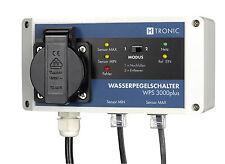 Interrupteur de pompe à eau WPS 3000plus,Min/états de niveau Max électronique