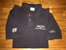 Skoal Racing Bandit Polo shirt Large - Black with #33 Ken Schrader print