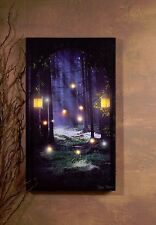 Enchanted Woods Entrance w Candles Lighted Picture 37968 NEW