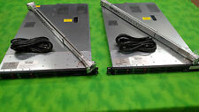 HP DL360 G7 Dual QC 2.40GHZ E5620 48GB MEM 4 X 300GB P410i/512MB RAILS LOT OF 2