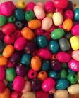 200+ Wooden Beads Beads. 5mm In Size. FREE POSTAGE