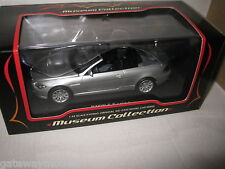 KYOSHO 1/43 BMW 645 Ci  CONVERTIBLE SILVER INCLUDES ROOF  AWESOME LOOKING CAR