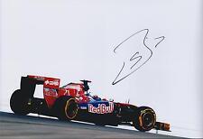 Sebastien Buemi F1 SIGNED Autograph Toro Rosso Cepsa 12x8 Photo AFTAL COA