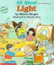 All About Light: Do It Yourself Science Book Melvin Berger Paperback