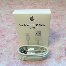 1M OEM Original Apple Lightning USB Charger Cable for iPhone 6S Plus iPhone 5S