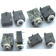 "20PCS 1/8"" 3.5mm Stereo Socket Jack Headphones With nut PCB Panel Mount Chassis"