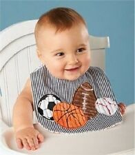 Baby Clothes Boy Mud Pie Sports Bib