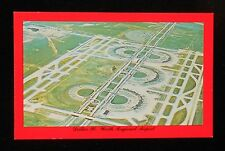 1970s Aerial View Dallas/Fort Worth Regional Airport Grapevine TX Tarrant Co PC