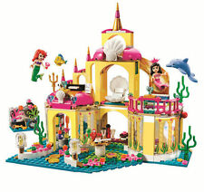 Girl FriendsMermaid's undersea Palace sets Building Toys 400pcs fit lego