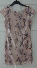 Next- Rare London Gorgeous Snake pattern Sequin fully lined Mini Dress Size 8