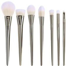 MSQ Pro Sliver 7PCs Makeup Brushes set Foundation Cosmetic Tool Powder Synthetic