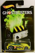 BATTLE SPEC GHOST TRAP GHOSTBUSTERS MOVIE CAR 3/8 HOT WHEELS DIECAST 2016
